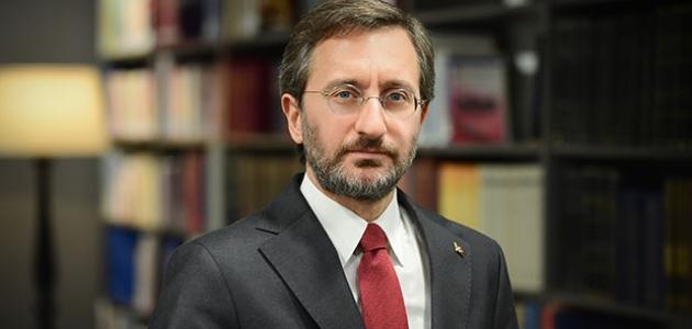 İletişim Başkanı Altun, ülkenin itibarını korumak ve yükseltmek için çalıştıklarını söyledi