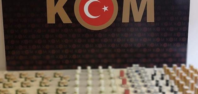 Konya'da 627 kaçak ilaç ele geçirildi