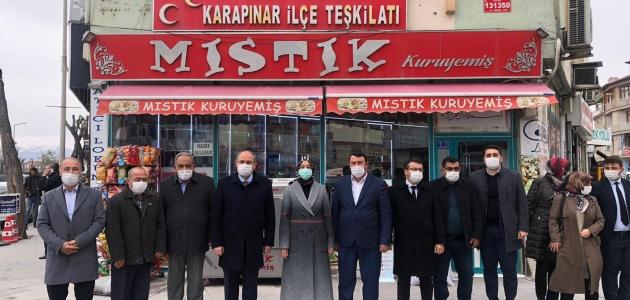 AK Parti Konya Milletvekili Samancı, Karapınar'da