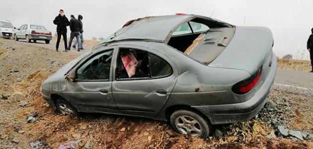 Otomobil takla attı: 2'si çocuk 4 yaralı