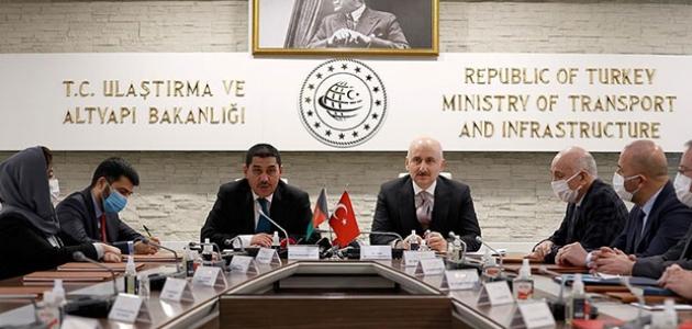 Türkiye ile Afganistan arasında ulaştırma alanında AR-GE'de iş birliği