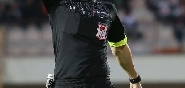 Konyaspor-Gençlerbirliği maçının hakemi belli oldu