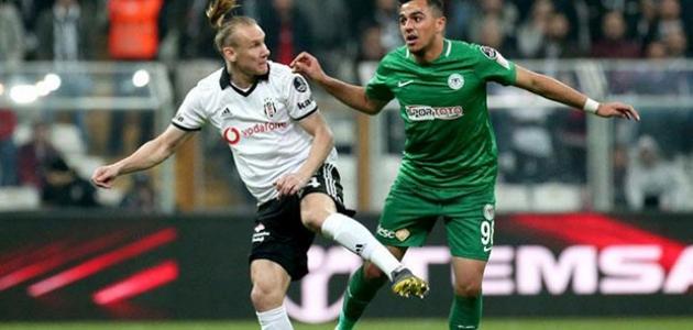 Konyaspor ile Beşiktaş 40. maça çıkıyor