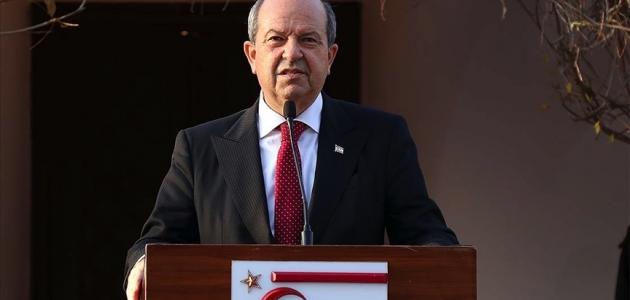 Tatar: Kıbrıs meselesinde Türkiye ile yüzde yüz uyum içerisindeyiz