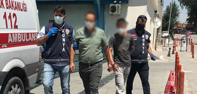 Konya'da bir kişinin öldüğü akraba kavgasının sanıkları hakim karşısında