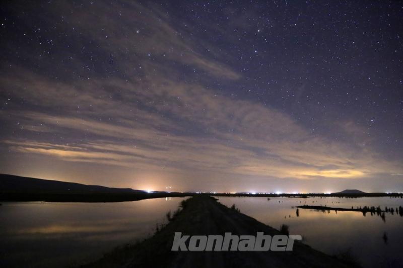 Akgöl Sazlıklarının gece güzelliği