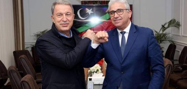 Bakan Akar'dan Libya İçişleri Bakanı Başağa'ya geçmiş olsun telefonu