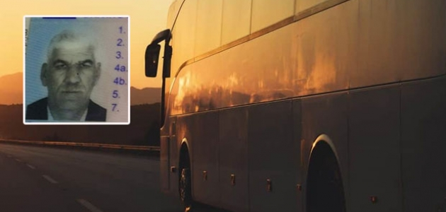 Otobüsün şoförü araçtaki dinlenme kabininde ölü bulundu