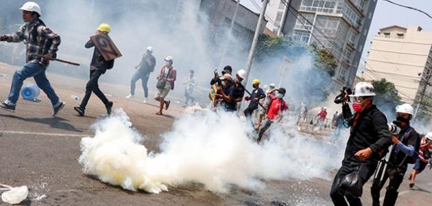 BM: Myanmar'da darbe karşıtı gösterilerde 50'den fazla kişi öldü