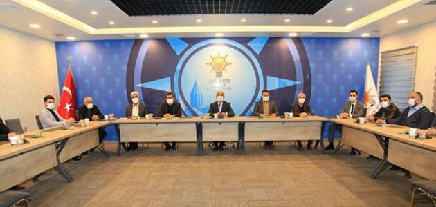 AK Parti Konya İl Teşkilatı'nda Yürütme Kurulu üyeleri belirlendi