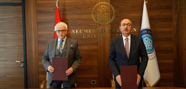 NEÜ ve Meram Belediyesi işbirliği protokolü imzalandı