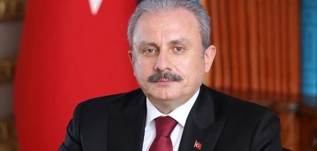 TBMM Başkanı Şentop: Ülkemize yönelik asılsız iddiaları reddediyoruz