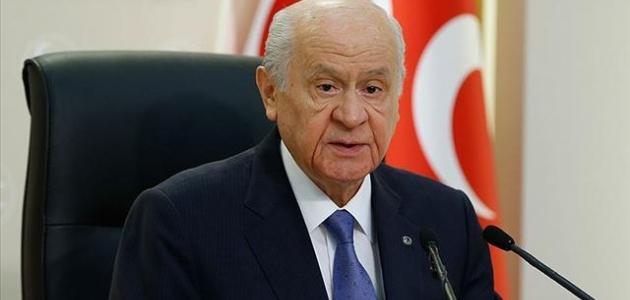 MHP lideri Bahçeli: HDP'nin kapatılması namus görevidir
