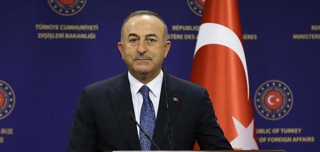 Dışişleri Bakanı Çavuşoğlu: Tüm terör örgütleriyle mücadelemiz devam edecek