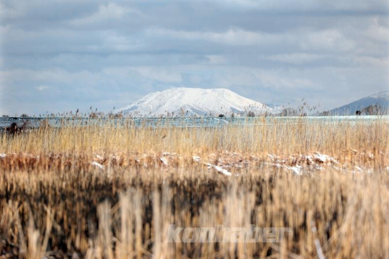 Anamas Dağları karla kaplandı