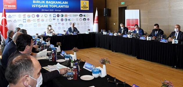 Konya, Birlik Başkanları İstişare Toplantısı'na ev sahipli yaptı
