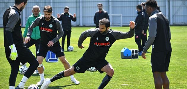 Konyaspor'da Erzurumspor maçı hazırlıkları