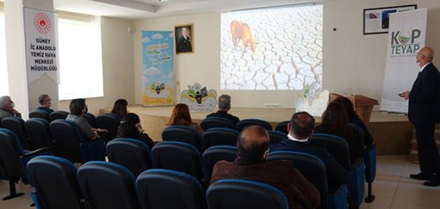 KOP destekliyor, öğrenciler iklim değişikliğini öğreniyor