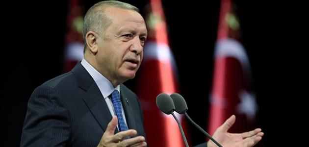 Cumhurbaşkanı Erdoğan'dan Etnospor mesajı
