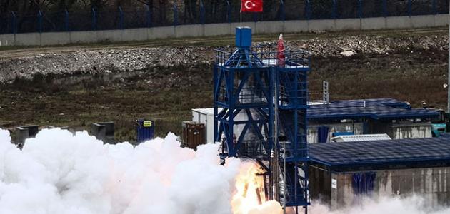 Adım adım aya doğru: Hibrit roket motoru testi geçti