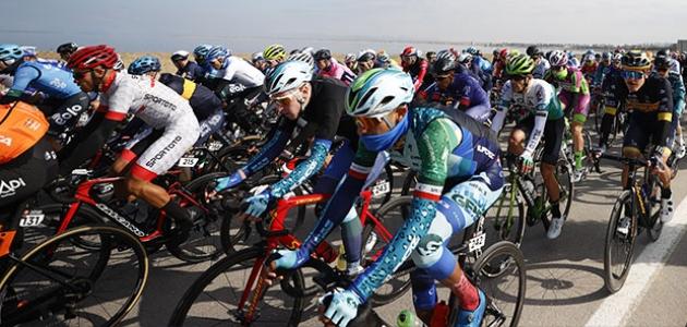 56'ıncı Cumhurbaşkanlığı Bisiklet Turu'nun üçüncü etabı tamamlandı