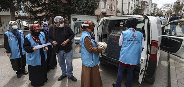 Türkiye Diyanet Vakfı, ramazan boyunca ihtiyaç sahibi 20 bin kişiye iftarlık kumanya dağıtacak