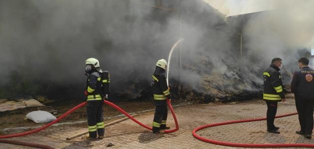 Besi damında çıkan yangın söndürüldü