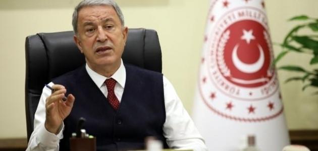 Bakan Akar'dan CHP'li Altay'a tepki