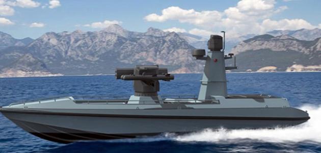 Türkiye'nin ilk silahlı insansız deniz aracı karadan kontrol edilebilecek