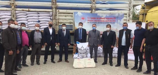 Konya'da kuru fasulye üretimi gelişiyor