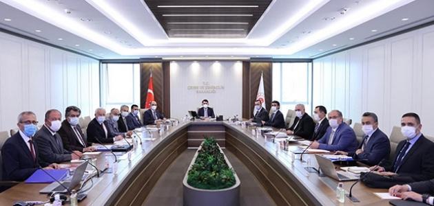 Seydişehir Belediye Başkanı Tutal, Bakan Kurumla projeleri istişare etti