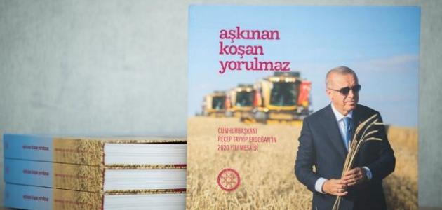 Cumhurbaşkanı Erdoğan'ın 2020 mesaisini anlatan kitap hazır