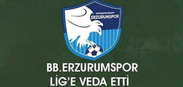 Erzurumspor'un küme düşmesi kesinleşti