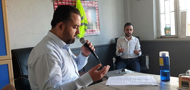 Konya'da anonsla yağmur duası
