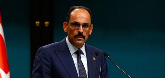 Cumhurbaşkanlığı Sözcüsü İbrahim Kalın, Sullivan ile görüştü