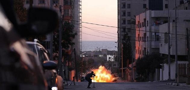 İsrail Gazze saldırısını sürdürüyor: 119 şehit, 830 yaralı