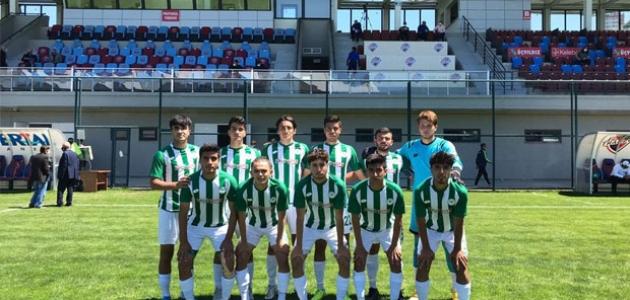 Konyaspor U19, Antalyaspor ile berabere kaldı