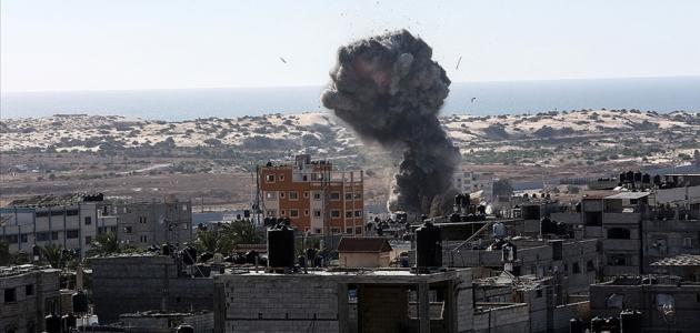 İsrail'in Gazze Şeridi'ne düzenlediği saldırılarda 1 kız çocuğu hayatını kaybetti