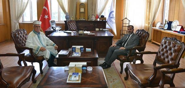 KKTC Din İşleri Başkanı Atalay'dan İl Müftüsü Öge'ye ziyaret
