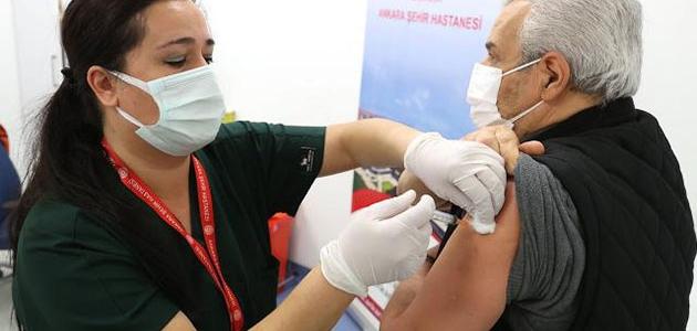 Konya'da 736 bin 254 kişi aşılandı