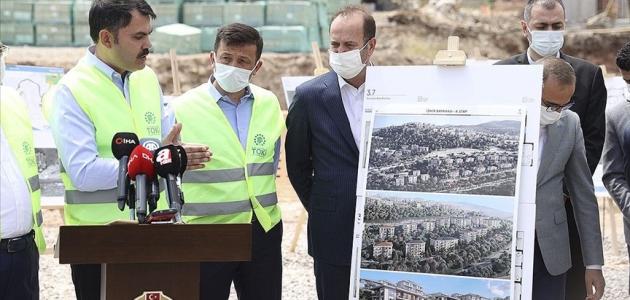 İzmir'e kentsel dönüşüm için 2 milyar 200 milyon liralık yatırım