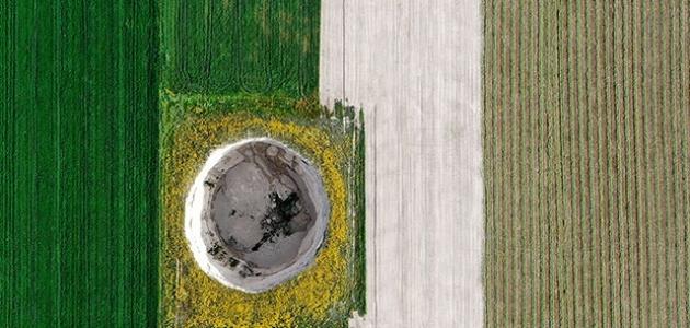 Konya'da 3 metre çapında 65 metre derinliğinde obruk oluştu