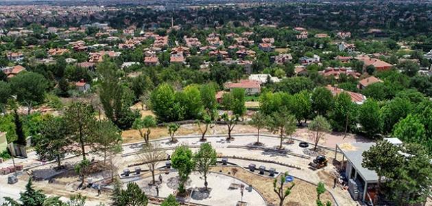 Başkan Kavuş: Meram'da gözde park alanları oluşturuyoruz