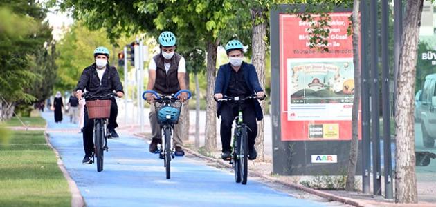 """Büyükşehir'den """"Bisiklet Şehri Konya"""" temalı fotoğraf yarışması"""