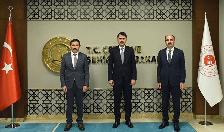 Başkanlardan bakanlık ziyaretleri