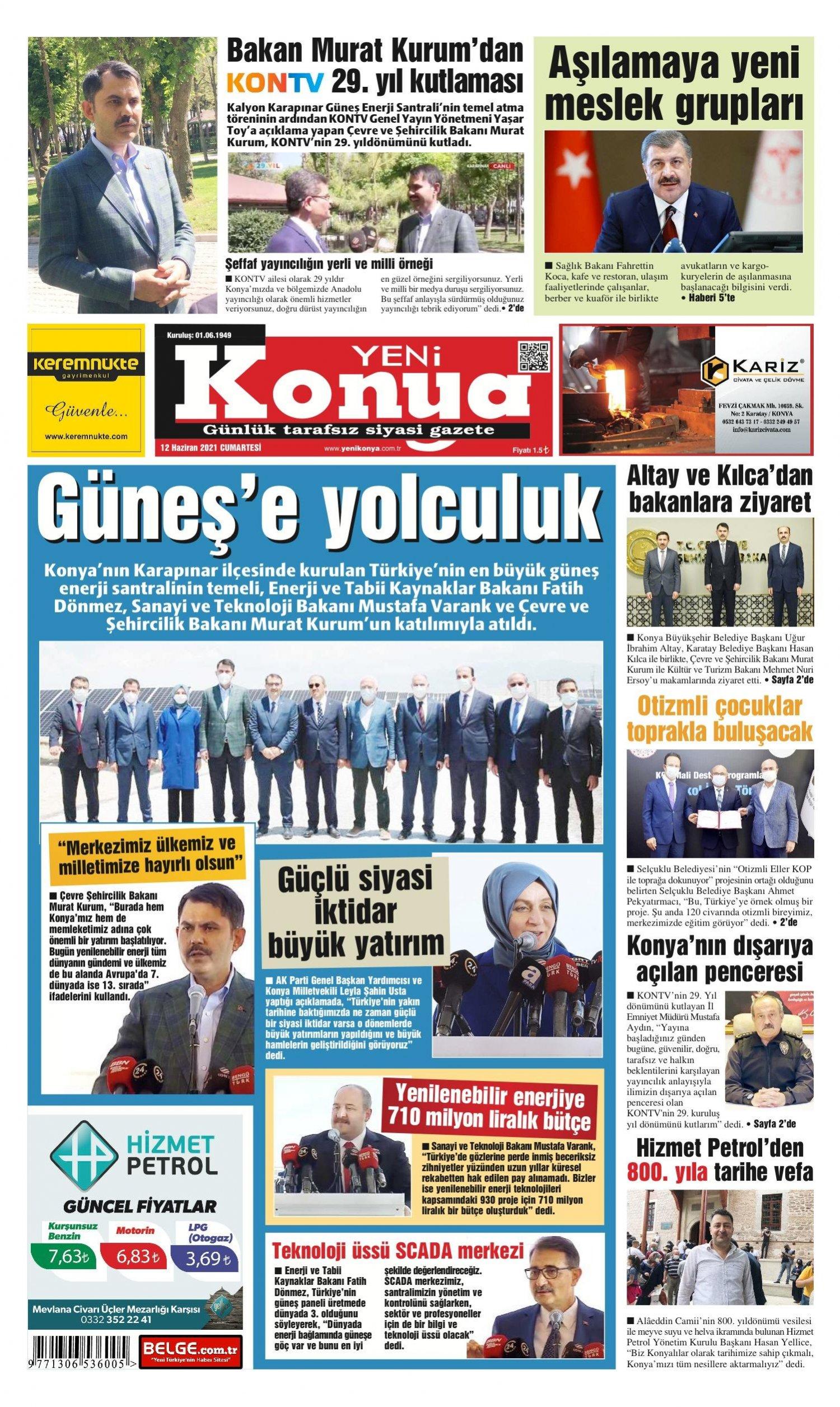 Yeni Konya Gazetesi