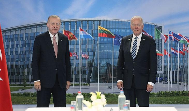 Cumhurbaşkanı Erdoğan, Biden ile bir araya geldi