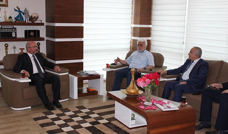 KOP Başkanı Şahin, KONTV'nin kuruluş yıl dönümünü kutladı