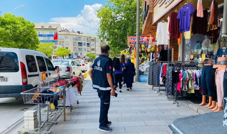 Seydişehir'de zabıta ekiplerinden denetim