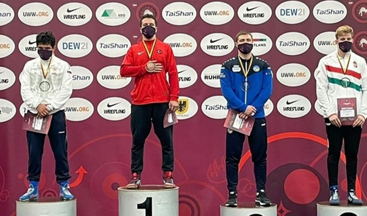 Türkiye, Avrupa Gençler Güreş Şampiyonası'nda 5 madalya ile ikinci oldu